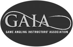 game angling instructor association logo