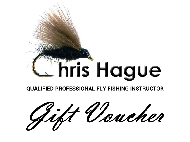 Fly fishing gift vouceher