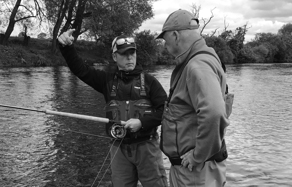 Fly fishing tutor